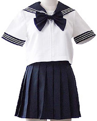 BODYLINE 新品 コスプレ衣装・グッズ(キャラクター) costume410 ポップカラーセーラー服 コスプレ ネイビー Sサイズ