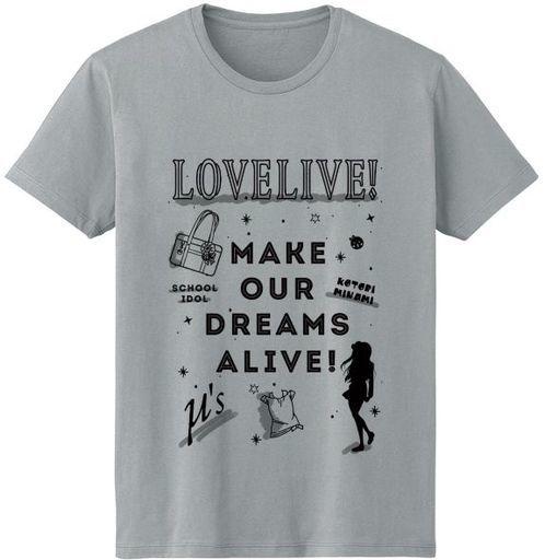 南ことり ラインアート Tシャツ グレー レディースLサイズ 「ラブライブ!」