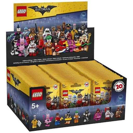 【新品】【ボックス】おもちゃ 【ボックス】LEGO レゴ ミニフィギュア レゴバットマンムービー 71017