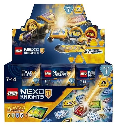 【中古】おもちゃ 【ボックス】LEGO コンボネックスパワーパック シリーズ1 「レゴ ネックスナイツ」 70372
