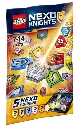 【中古】おもちゃ 【ボックス】LEGO コンボネックスパワーパック シリーズ2 「レゴ ネックスナイツ」 70373