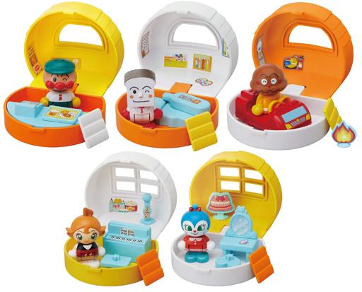 バンダイ 新品 知育・幼児玩具 それいけ!アンパンマン アンパンマンタウン おでかけハウス&ドールセット 第2弾