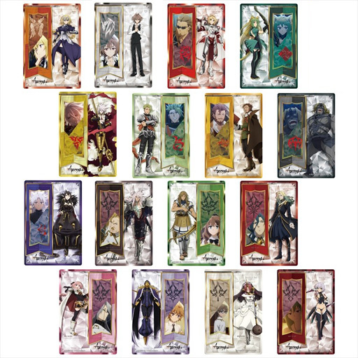 【新品】【ボックス】ブックカバー・しおり(キャラクター) 【ボックス】Fate/Apocrypha トレーディングクリアしおり