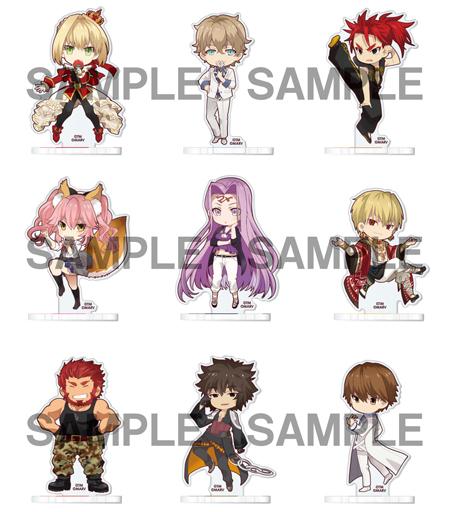 【予約】【ボックス】小物(キャラクター) 【ボックス】Fate/EXTELLA アクリルスタンドコレクション 第1弾