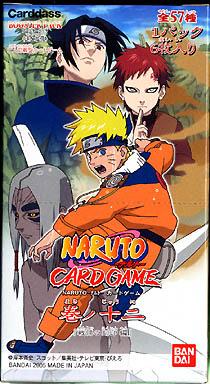 【 パック 】NARUTO-ナルト- カードゲーム 巻ノ十二 ブースター ~戦慄の刻印編~