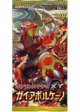 Pokemon card game XY expansion pack Gaia Volcano