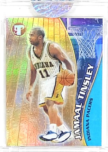 【中古】トレカ Jamaal Tinsley-ジャマール・ティンズリー-(インディアナ・ペイサーズ) カード(ハードケース) 「2001 Topps Pristine Basketball Card」