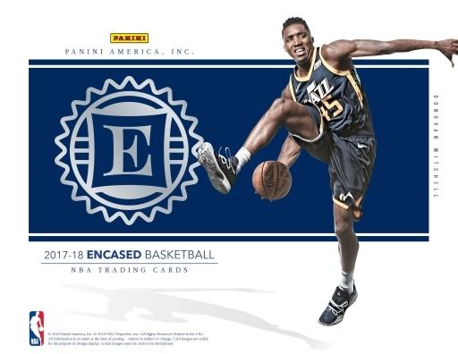 【予約】トレカ NBA 2017-18 PANINI ENCASED BASKETBALL NBA公式バスケットボールカード