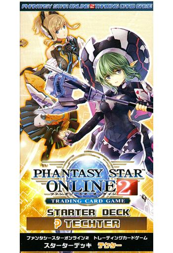 PHANTASY STAR ONLINE スターターデッキ テクター