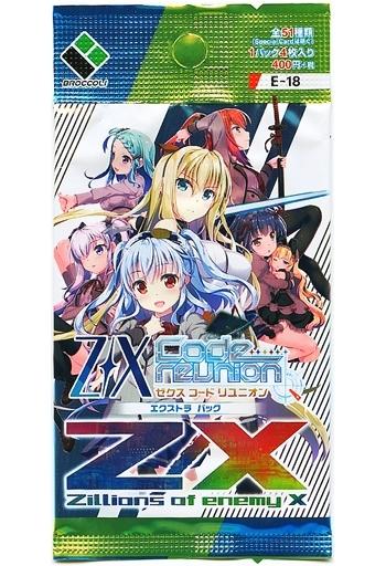【 パック 】Z/X -Zillions of enemy X- EXパック Code reunion [E18]