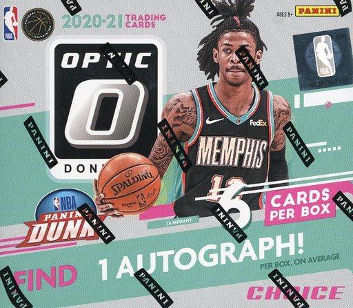 PANINI 新品 トレカ NBA 2020-21 DONRUSS OPTIC BASKETBALL CHOICE パニーニ社「ドンラスオプティック」チョイス版NBA公式バスケットボールカード