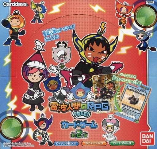 ボックス電波人間のrpg Free カードゲーム 第2弾 ブースターパックdp