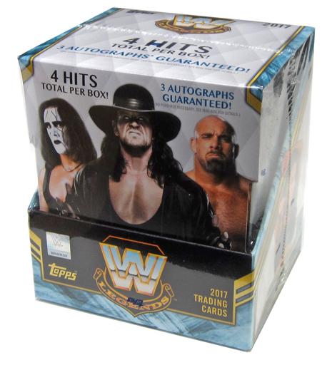 【新品】【ボックス】トレカ 【ボックス】2017 TOPPS LEGENDS OF WWE WWE公式プロレスカード・レジェンド版