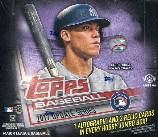 【新品】【ボックス】トレカ 【ボックス】MLB 2017 TOPPS SERIES UPDATE JUMBO MLB公式ベースボールカード(2017年度第3弾)