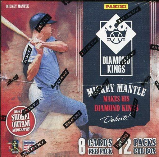 【予約】【ボックス】トレカ 【ボックス】2018 DIAMOND KINGS BASEBALL メジャーリーグ選手会公認ベースボールカード