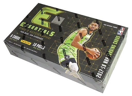 【予約】【ボックス】トレカ 【ボックス】NBA 2017-18 PANINI ESSENTIALS BASKETBALL NBA公式バスケットボールカード