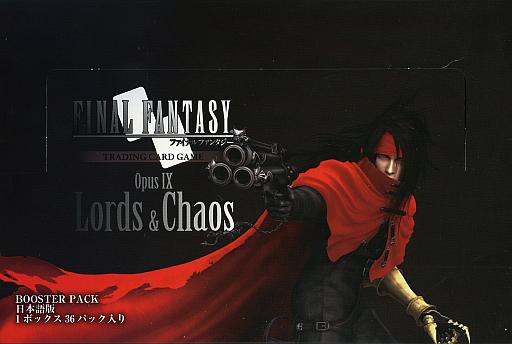 【ボックス】FF-TCG Opus IX ブースターパック Lords&Chaos 日本語版
