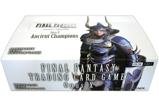 【ボックス】FF-TCG Opus X ブースターパック いにしえの戦士たち (Ancient Champions) 日本語版