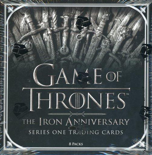 TOPPS 新品 トレカ 【BOX】RITTENHOUSE GAME OF THRONES IRON ANNIVERSARY S1 海外ドラマ「アイアン・アニバーサリーS1」ゲーム・オブ・スローンズ公式トレーディングカード