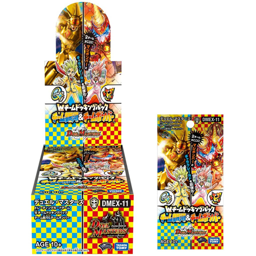 タカラトミー 新品 トレカ(デュエルマスターズ) 【BOX】デュエル・マスターズTCG Wチームドッキングパック チーム銀河&チームボンバー [DMEX-11]