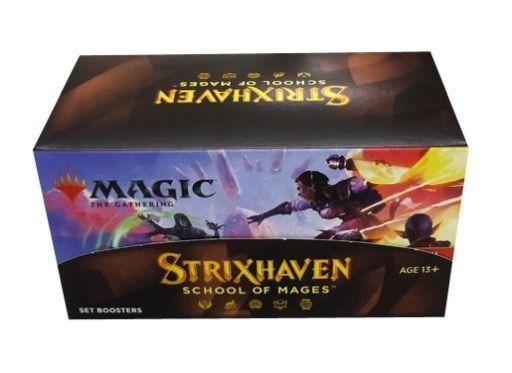 ウィザーズ・オブ・ザ・コースト 新品 トレカ(マジックザギャザリング) 【BOX】MTG ストリクスヘイヴン:魔法学院 セット・ブースター 英語版
