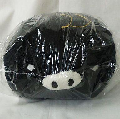 【中古】ぬいぐるみ モノクロブー(黒) ぬいぐるみBIG 「モノクロブー」