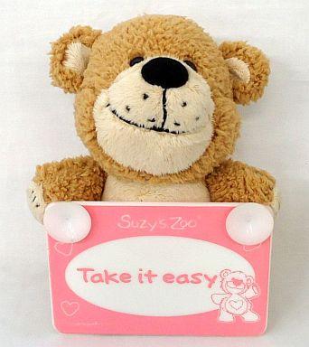 【中古】ぬいぐるみ ブーフ(Take it easy) メッセージマスコット 「Suzy's Zoo」