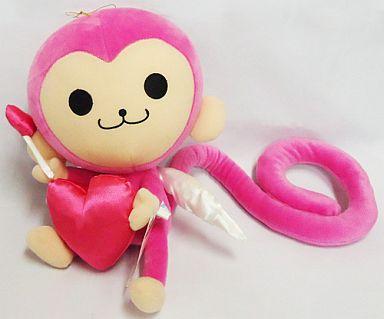 【中古】ぬいぐるみ ピンキーモンキー スーパージャンボバレンタインぬいぐるみ 「Pinky」
