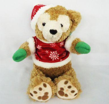 【中古】ぬいぐるみ ダッフィー(クリスマス衣装) クリスマスホリデー2010 ぬいぐるみ 「ディズニーベア」 WDW限定