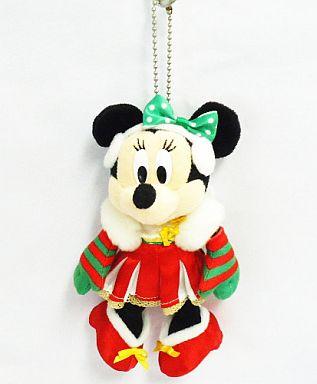 【中古】ぬいぐるみ ミニーマウス ぬいぐるみバッジ 「クリスマス・ファンタジー2008」 東京ディズニーランド限定