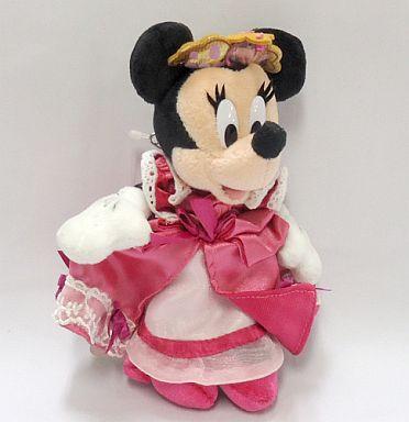 【中古】ぬいぐるみ [タグ有・美品] ミニーマウス ぬいぐるみバッジ 「ディズニー・プリンセス・デイズ2005」 東京ディズニーランド限定