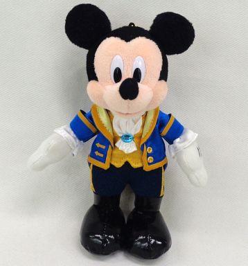 【中古】ぬいぐるみ ミッキーマウス(野獣/ディズニーランド開園31周年記念) ぬいぐるみバッジ 「ディズニー」 東京ディズニーランド限定