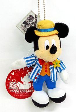 【中古】ぬいぐるみ ミッキーマウス(ディズニーシー13周年記念) ぬいぐるみバッジ 「ディズニー」 東京ディズニーシー限定