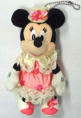 【中古】ぬいぐるみ ミニーマウス ぬいぐるみバッジ 「ミッキーとダッフィーのスプリングヴォヤッジ2012」 東京ディズニーシー限定
