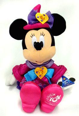 【中古】ぬいぐるみ [タグ有・美品] ミニーマウス(Be Magical!) ぬいぐるみ 「東京ディズニーシー10thアニバーサリー」 東京ディズニーシー限定