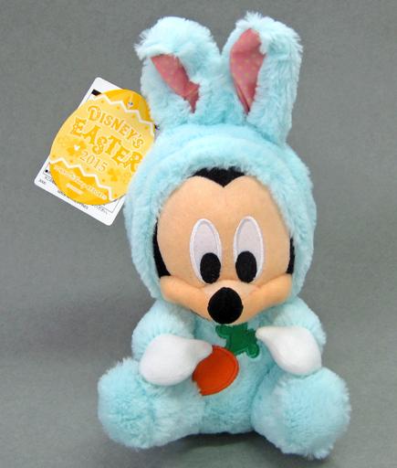 【中古】ぬいぐるみ [タグ有・美品] ミッキーマウス(ウサギモチーフ) ぬいぐるみ 「ディズニー・イースター2015」 東京ディズニーリゾート限定