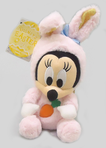 【中古】ぬいぐるみ [タグ有・美品] ミニーマウス(ウサギモチーフ) ぬいぐるみ 「ディズニー・イースター2015」 東京ディズニーリゾート限定