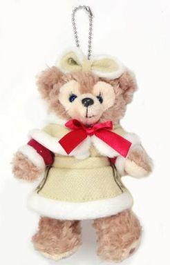【中古】ぬいぐるみ シェリーメイ(ダッフィーのクリスマス) ぬいぐるみバッジ 「クリスマス・ウィッシュ2014」 東京ディズニーシー限定
