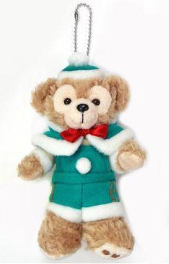 【中古】ぬいぐるみ ダッフィー(ダッフィーのクリスマス) ぬいぐるみバッジ 「クリスマス・ウィッシュ2014」 東京ディズニーシー限定