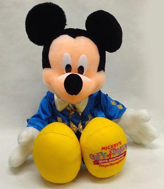 【中古】ぬいぐるみ ミッキーマウス(ミッキーのギフト・オブ・ドリームス)  ぬいぐるみ 「東京ディズニーランド20thアニバーサリー」 東京ディズニーランド限定