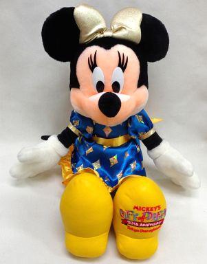 【中古】ぬいぐるみ ミニーマウス(ミッキーのギフト・オブ・ドリームス)  ぬいぐるみ 「東京ディズニーランド20thアニバーサリー」 東京ディズニーランド限定