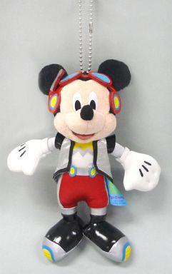 【中古】ぬいぐるみ ミッキーマウス ぬいぐるみバッジ 「東京ディズニーランド32周年アニバーサリー」 東京ディズニーランド限定