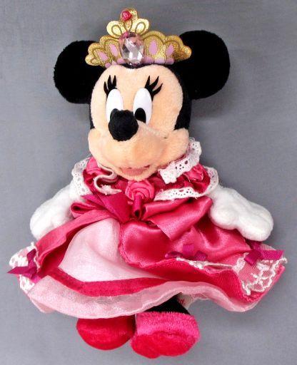 【中古】ぬいぐるみ ミニーマウス ぬいぐるみバッジ 「ディズニー・プリンセス・デイズ2005」 東京ディズニーランド限定