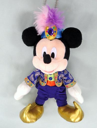 【中古】ぬいぐるみ ミッキーマウス(ディズニーシー14周年記念) ぬいぐるみバッジ 「ディズニー」 東京ディズニーシー限定