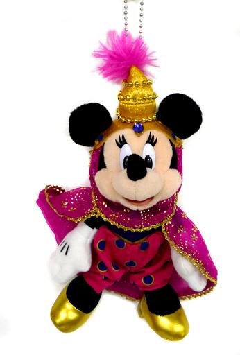 【中古】ぬいぐるみ ミニーマウス(ディズニーシー14周年記念) ぬいぐるみバッジ 「ディズニー」 東京ディズニーシー限定