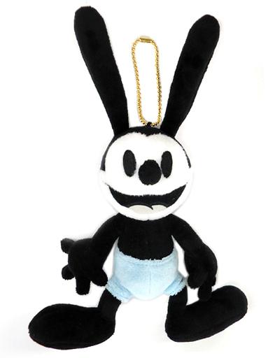 【中古】ぬいぐるみ オズワルド・ザ・ラッキー・ラビット ぬいぐるみバッジ 「しあわせウサギのオズワルド」 東京ディズニーリゾート限定