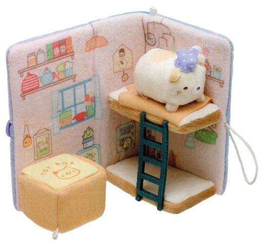 サンエックス 新品 ぬいぐるみ すみっコの寝室 ぬいぐるみ絵本 「すみっコぐらし」