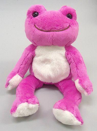 【中古】ぬいぐるみ ピクルス(こもも) にじいろシリーズ ビーンドール 「pickles the frog-かえるのピクルス-」