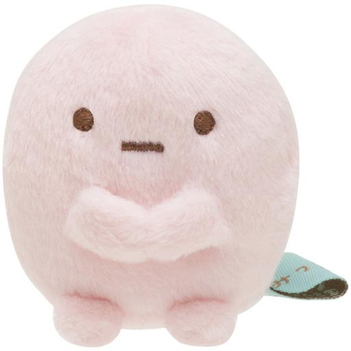 サンエックス 新品 ぬいぐるみ たぴおか(ピンク) てのりぬいぐるみ 「すみっコぐらし」