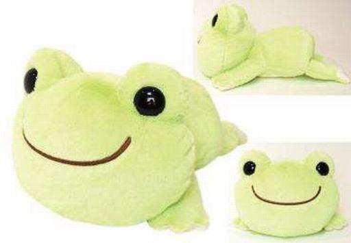 【中古】ぬいぐるみ ピクルス HAIHAIシリーズ ぬいぐるみ(M) 「pickles the frog-かえるのピクルス-」